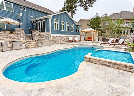 swimming pool design - The Riviera